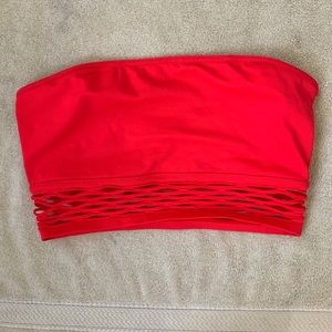 PINK Victoria's Secret Intimates & Sleepwear - 🌟NWT🌟PINK Bandeau Red Size Med